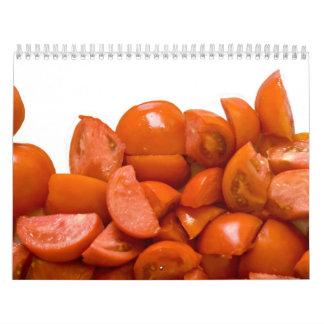 Calendario de la cocina