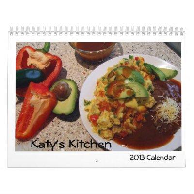 Calendario de la cocina 2013 de Katy