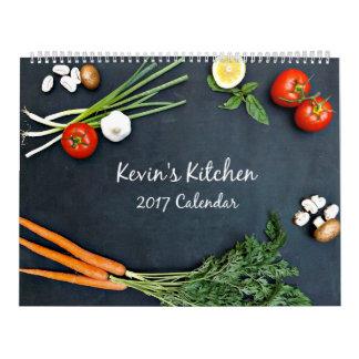Calendario de la cocina 2017 de Kevin