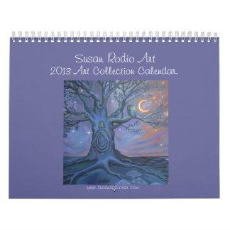 Calendario de la colección de arte de Susan Rodio