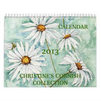 """""""Calendario de la colección de Cornualles de Chris"""