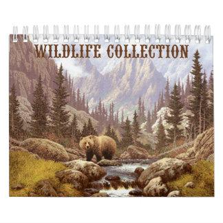 Calendario de la colección de la fauna pequeño