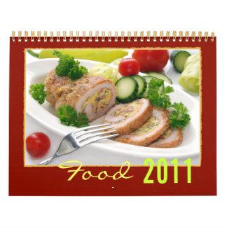 Calendario de la comida 2011