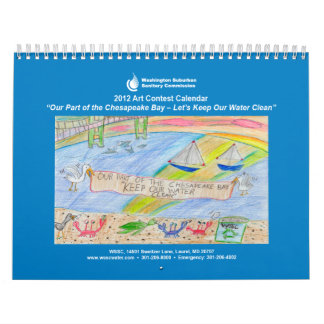 Calendario de la competencia del arte de 2012 WSSC
