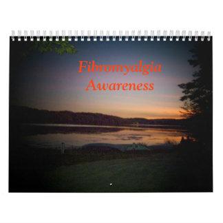 Calendario de la conciencia del Fibromyalgia