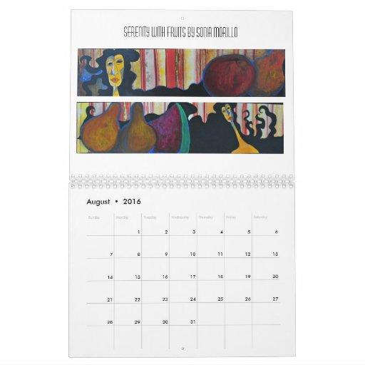 Calendario de la condición de mujer