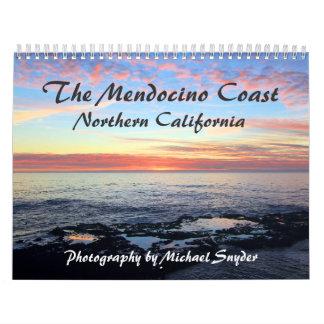 Calendario de la costa de Mendocino