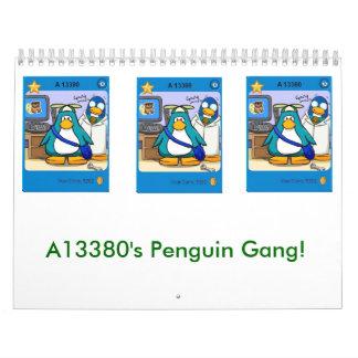 ¡Calendario de la cuadrilla del pingüino de Calendarios
