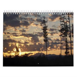 Calendario de la escritura de la grandeza de dios