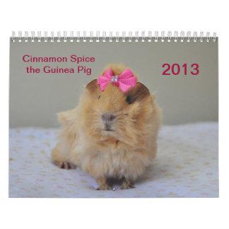 Calendario de la especia 2013 del canela