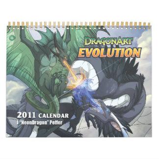 Calendario de la evolución de DragonArt