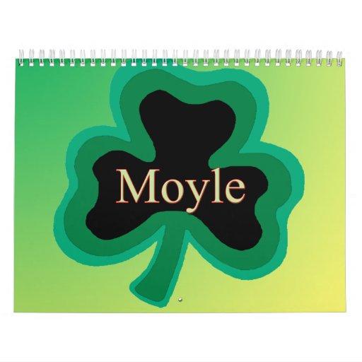 Calendario de la familia de Moyle