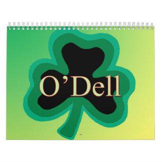 Calendario de la familia de O'Dell