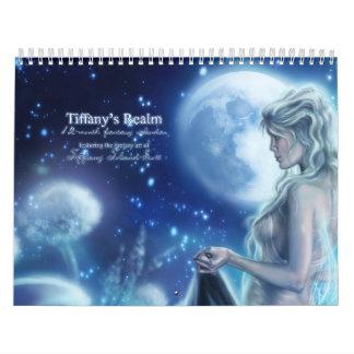 Calendario de la fantasía del reino de Tiffany