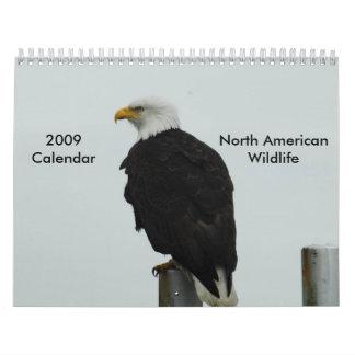 Calendario de la fauna de 2009 norteamericanos