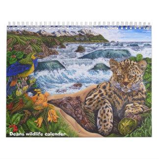 calendario de la fauna de los decanos de las ilust