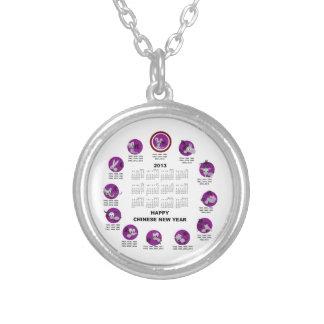 Calendario de la Feliz Año Nuevo del zodiaco de 20 Grimpola Personalizada