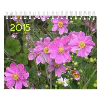 Calendario de la flor y de la naturaleza 2015