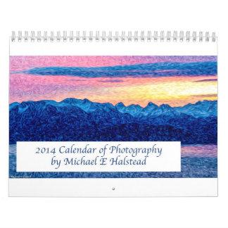 Calendario de la foto de 2014 paisajes