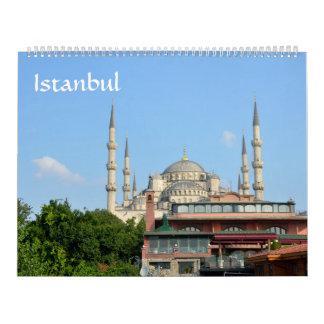 calendario de la foto de Estambul de 12 meses