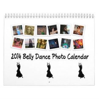 Calendario de la foto de la danza de Belly 2014