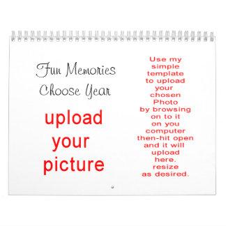 Calendario de la foto hacer-él-yoursef carga por t