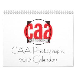 Calendario de la fotografía 2010 de CAA