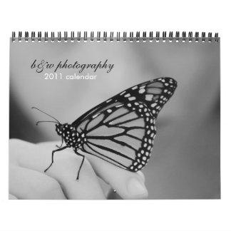 calendario de la fotografía 2011 del b&w