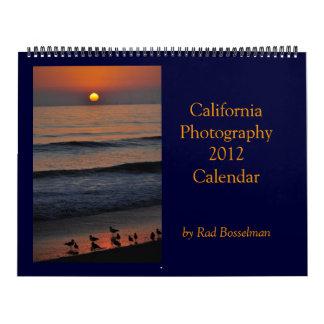 Calendario de la fotografía 2012 de California