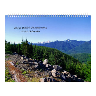 Calendario de la fotografía 2012 de Chris Osborn