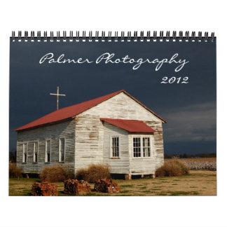 Calendario de la fotografía 2012 de Palmer