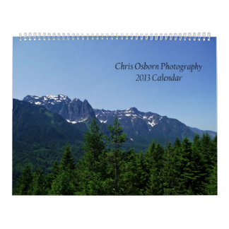 Calendario de la fotografía 2013 de Chris Osborn