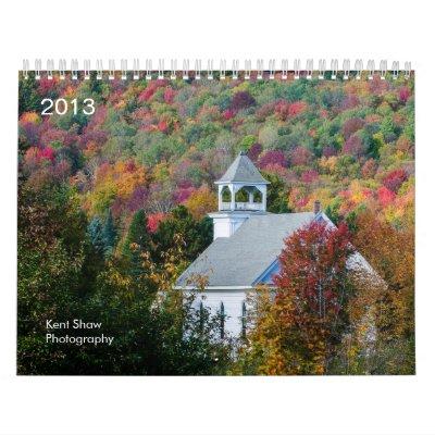 Calendario de la fotografía 2013 de Kent Shaw