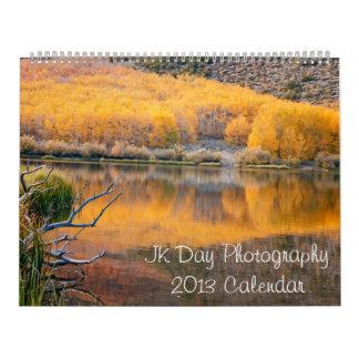 Calendario de la fotografía 2013 del día de JK