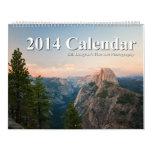 Calendario de la fotografía 2014 de la bella arte