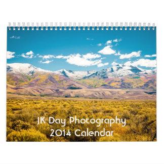Calendario de la fotografía 2014 del día de JK