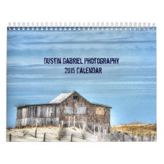 Calendario de la fotografía 2015 de Dustin Gabriel