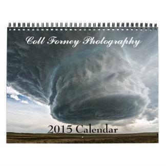 Calendario de la fotografía 2015 de Forney del