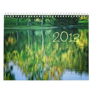 Calendario de la fotografía de 2013 paisajes