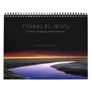 Calendario de la fotografía de 2014 paisajes