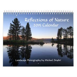 Calendario de la fotografía de 2015 paisajes