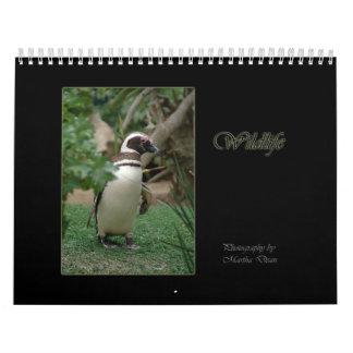 Calendario de la fotografía de la fauna