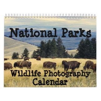 Calendario de la fotografía de la fauna de los