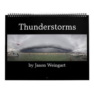 Calendario de la fotografía de la tempestad de