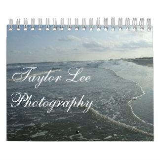 Calendario de la fotografía de Taylor Lee