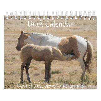 Calendario de la fotografía de Utah