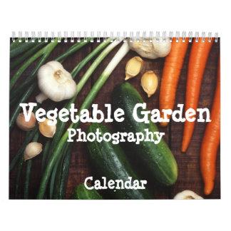 Calendario de la fotografía del huerto