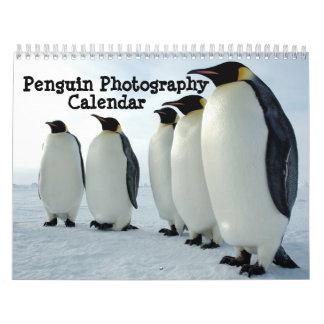 Calendario de la fotografía del pingüino