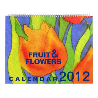 Calendario de la fruta y de las flores 2012 - de