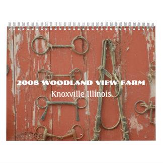 Calendario de la granja 2008 de la opinión del arb